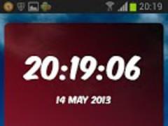 Red Star Digital Clock 1.02 Screenshot