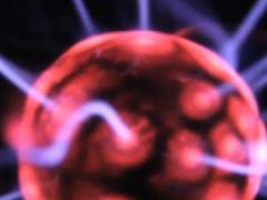 Red Static Light Beams LWP 26 Screenshot
