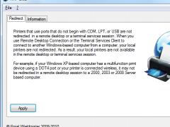 Redirect All RDP Printers 1.02 Screenshot