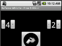 Referee Whistle - Free Edition 1.10 Screenshot