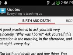 Reflections - By Ajahn Chah 1.0 Screenshot