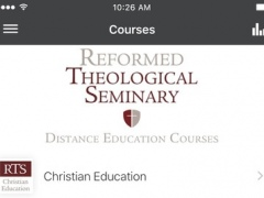 Reformed Theological Seminary 4.3.3 Screenshot