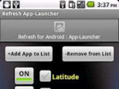 Refresh App-Launcher 1.0 Screenshot