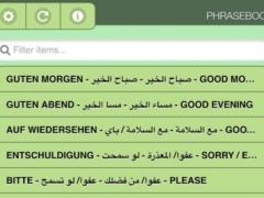 Refugee Phrasebook 1.3 Screenshot