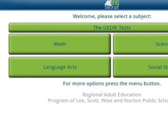 Regional Adult Ed - GED® 1.8.0 Screenshot