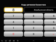 Regional Codes of Kazakhstan 2.0 Screenshot