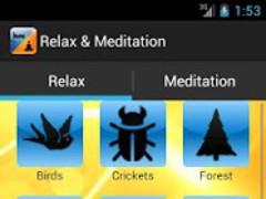 Relax & Meditation Sounds 1.2 Screenshot