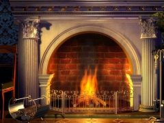 Relaxing Fireplace Screensaver 1.3 Screenshot