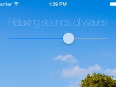 Relaxing sounds of waves (high-quality natural sound and with 24-hour countdown timer) 1.0 Screenshot