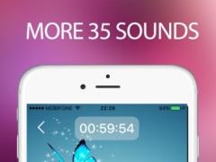 Relaxing sounds: sleep pillow sounds, white noise 1.2 Screenshot