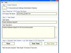 Reliable Task Timer 1.8 Screenshot