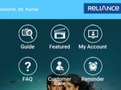 Reliance Digital TV 1.4.3 Screenshot