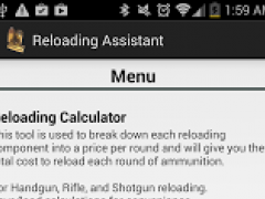 Reloading Assistant 1 01 11 Free Download