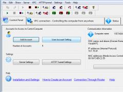 Remote Administrator Control Server 4.0.3 Screenshot