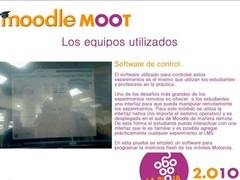 Remote Labs for Moodle  Screenshot