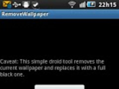 Remove Wallpaper 1.1 Screenshot