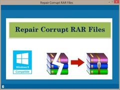 Repair Corrupt RAR Files 2.0.0.17 Screenshot
