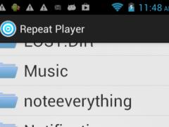 Repeat Player Pro 1.0 Screenshot
