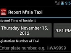 Report Malaysia Taxi 1.1.3 Screenshot