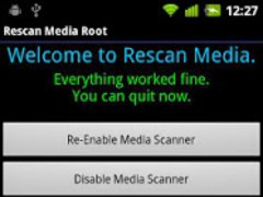 Rescan Media ROOT 2.3.2 Screenshot