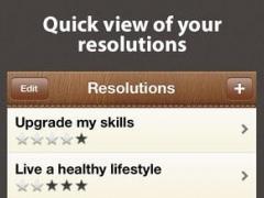 Resolutions Tracker 1.1 Screenshot