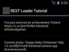 REST Loader Tutorial 1.0.1 Screenshot