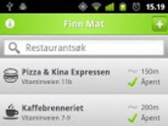 Restaurants and cafes in Oslo 1.0 Screenshot