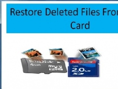 Restore Deleted Files From SDHC Card 4.0.0.32 Screenshot