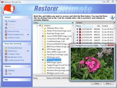 Restorer Ultimate 7.5 Screenshot