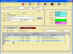 Retail-PosPro 11C Screenshot
