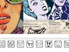 RETRO COMIC ADW Theme 1.0 Screenshot