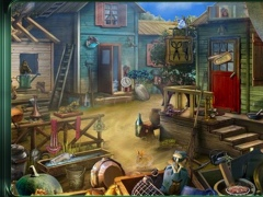 Retro Hidden Objects Game 1 Screenshot
