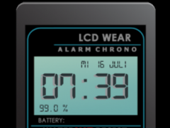 Retro LCD Wear Watchface  Screenshot