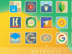 Retrofit Icon Pack 1.8 Screenshot