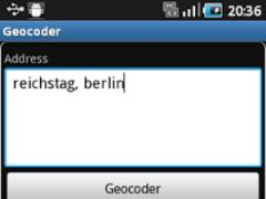 Reverse Geocoder 1.0.3.421 Screenshot