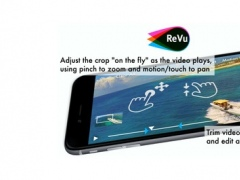 ReVu Video Editor - Record Zoom and Pan Interactions to Make a New Video 1.02 Screenshot