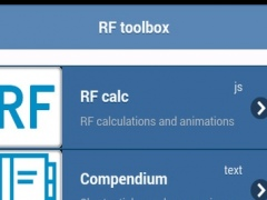 RF Circuit Toolbox 1.0 Screenshot