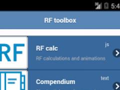 RF circuits toolbox 0.0.1 Screenshot
