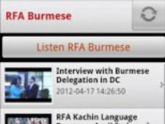 RFA Burmese 1.2 Screenshot