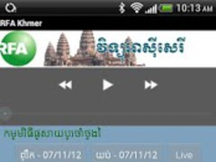 RFA Khmer (live stream) 1.3 Screenshot