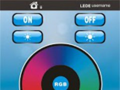 RGBW Wifi Controler 1.0 Screenshot