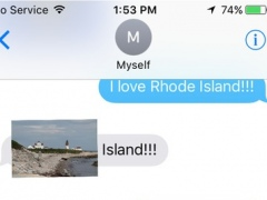 Rhode Island Stickers for iMessage 1.0 Screenshot
