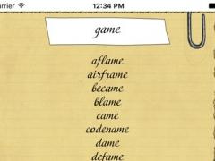 Rhymes generator 2.2 Screenshot