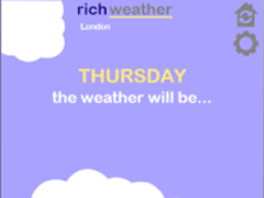 richweather 2.0 Screenshot