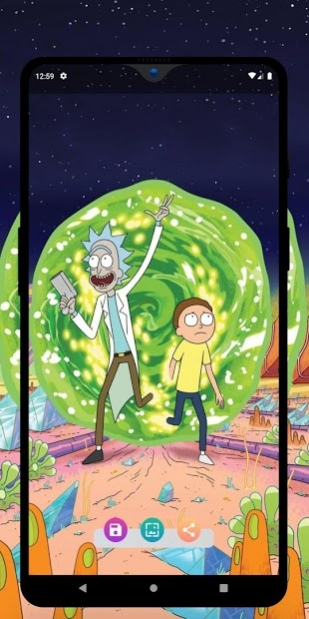 Rickww - Rick and Morty Wallpaper - HD