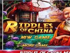 Riddles Of China - Hidden Objects 1.0 Screenshot