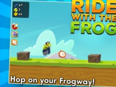Ride With the Frog 1.0.2 Screenshot