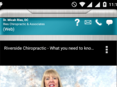 Ries Chiropractic 1.0 Screenshot