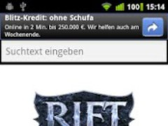 RiftWiki Browser 1.3 Screenshot