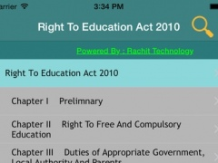 Right To Education Act 2010 1.3 Screenshot
